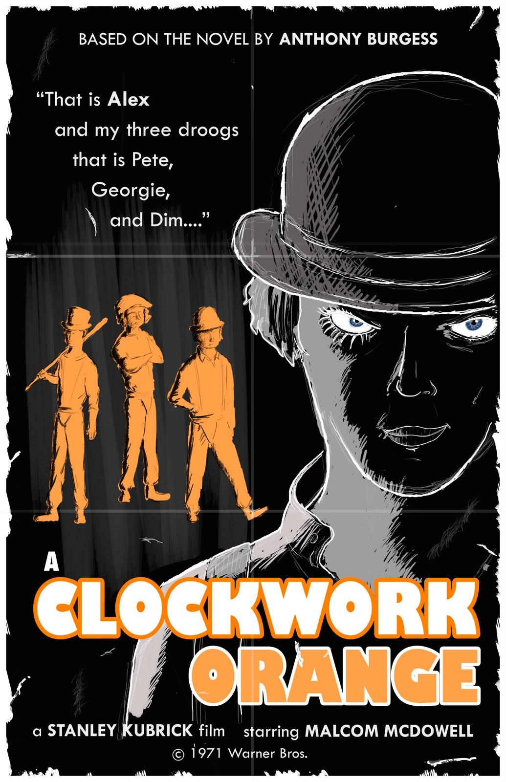 an analysis of the topic of the freedom of choice in a clockwork orange by anthony burgess A clockwork orange is a 1971 dystopian crime film adapted, produced, and directed by stanley kubrick, based on anthony burgess's 1962 novel of the same nameit employs disturbing, violent images to comment on psychiatry, juvenile delinquency, youth gangs, and other social, political, and economic subjects in a dystopian near-future britain.
